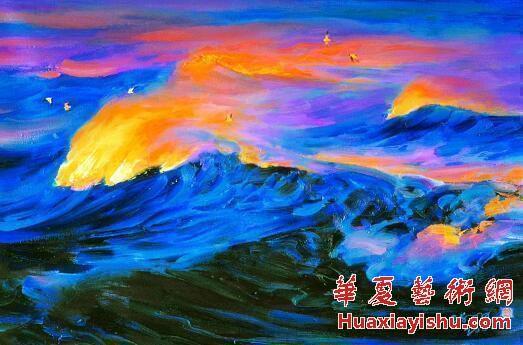 张胜利:陈明大海皴――中国海洋画技法的灵魂